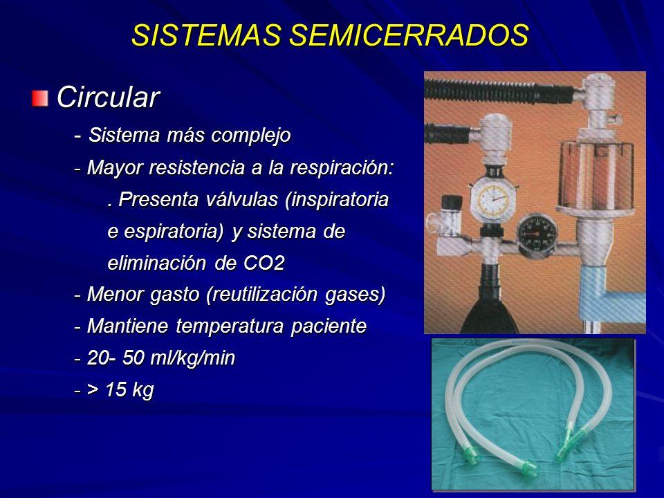 SISTEMAS SEMICERRADOS
