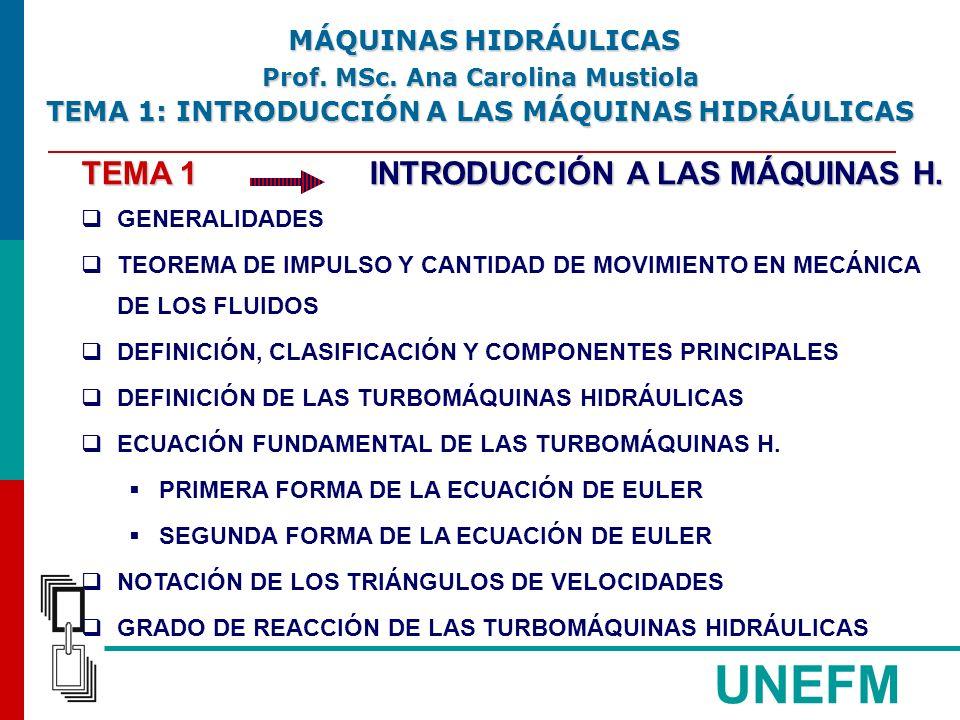 UNEFM TEMA 1 INTRODUCCIÓN A LAS MÁQUINAS H.