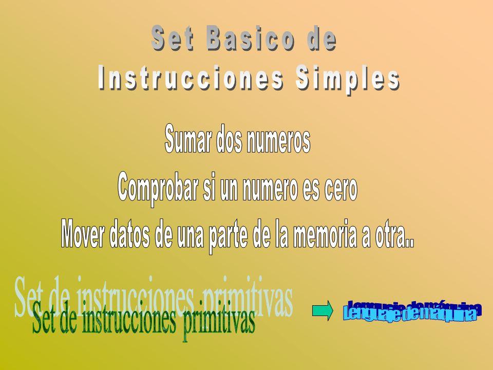 Instrucciones Simples