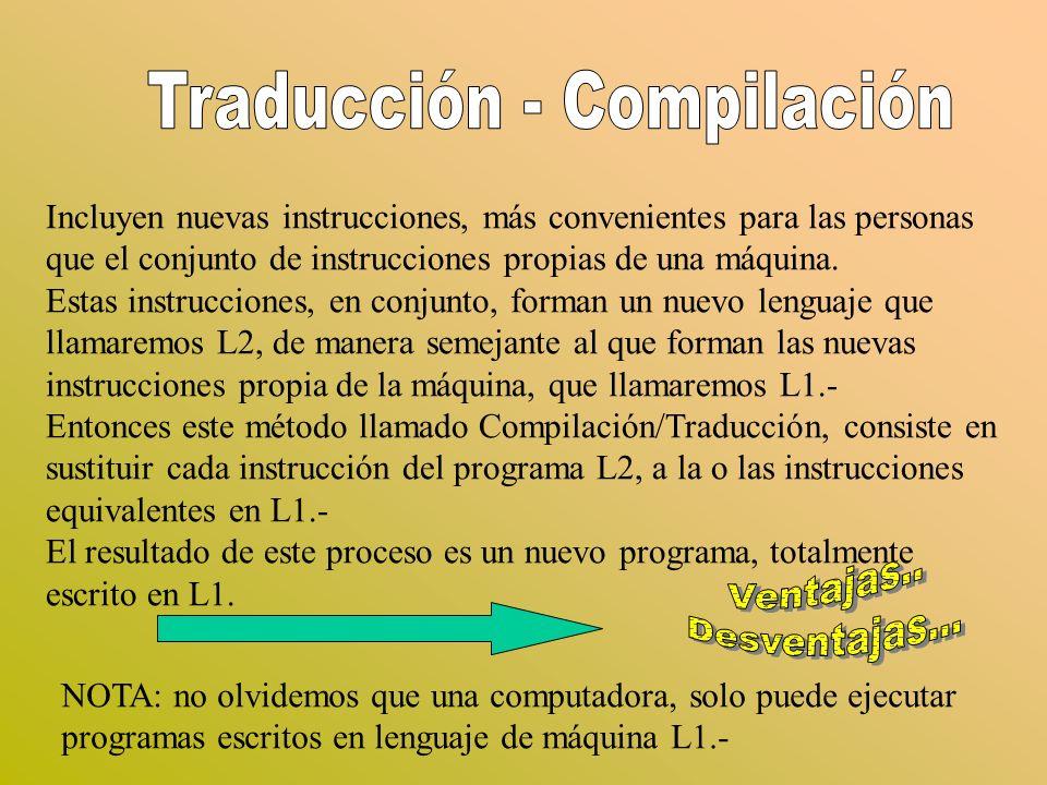 Traducción - Compilación