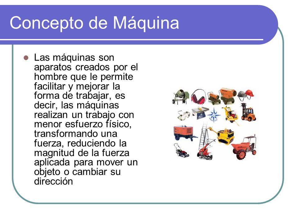 Concepto de Máquina