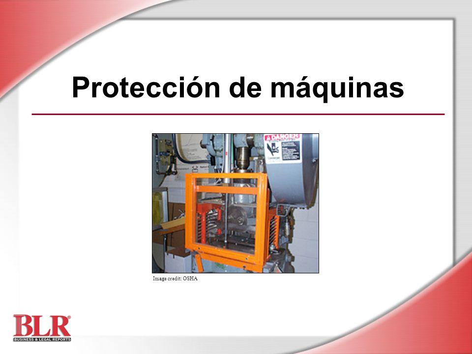Protección de máquinas