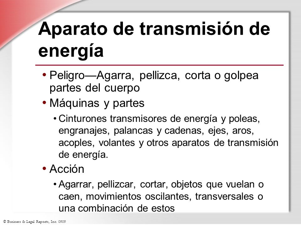 Aparato de transmisión de energía