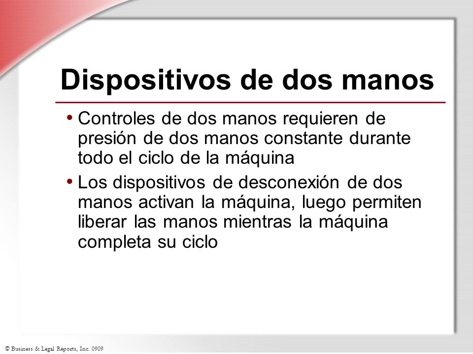 Dispositivos de dos manos