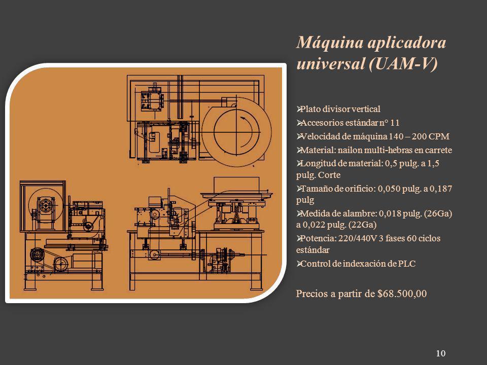 Máquina aplicadora universal (UAM-V)