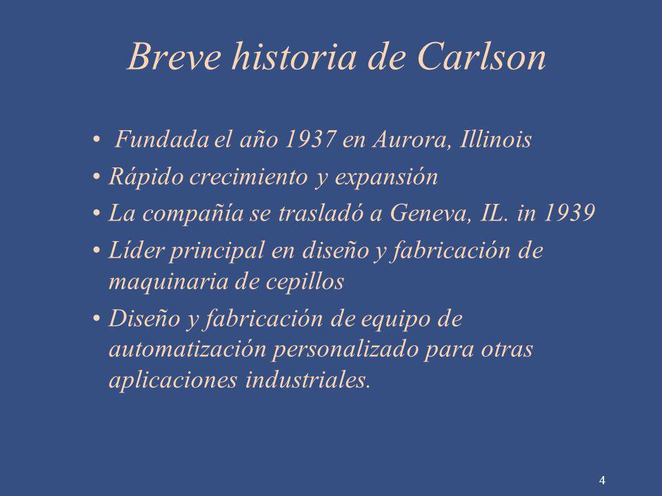 Breve historia de Carlson