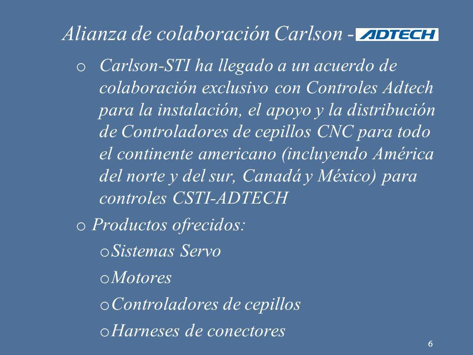 Alianza de colaboración Carlson -