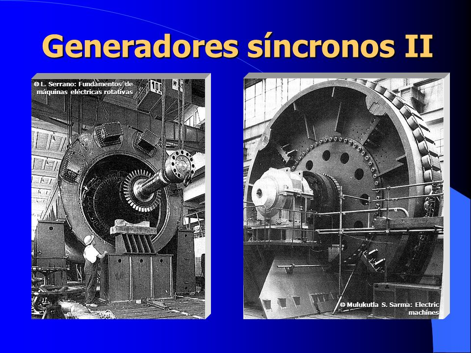 Generadores síncronos II