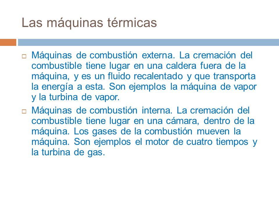 Las máquinas térmicas