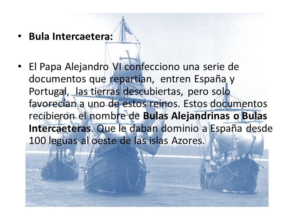 Bula Intercaetera: