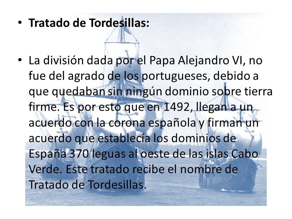 Tratado de Tordesillas: