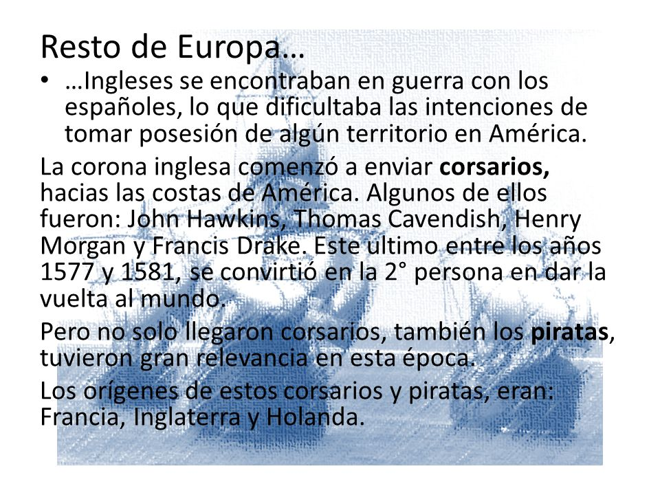 Resto de Europa…