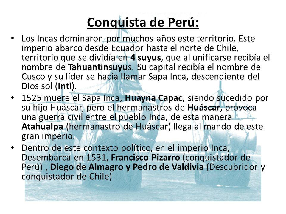 Conquista de Perú: