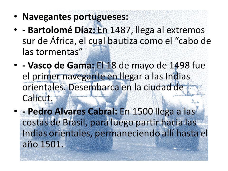 Navegantes portugueses: