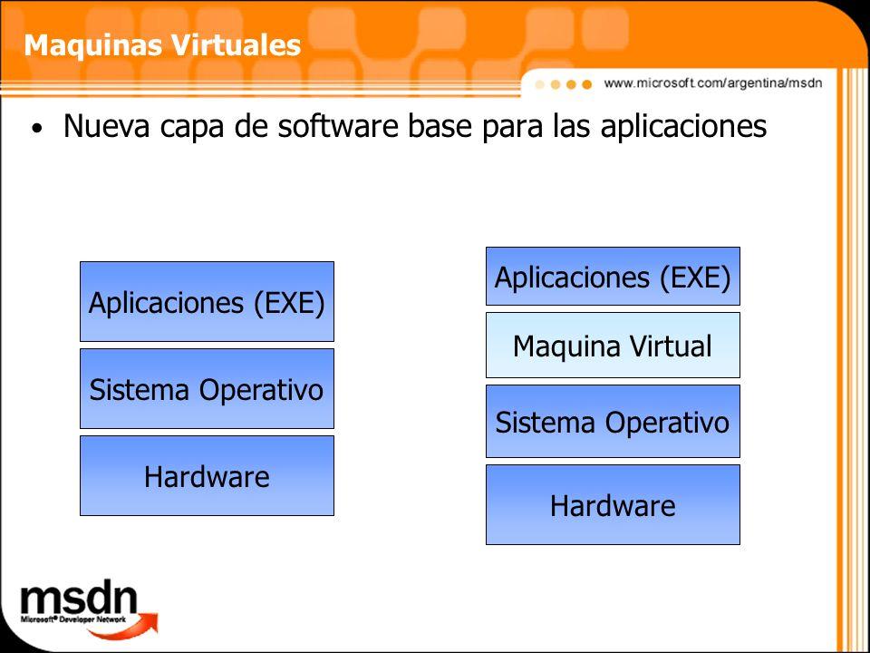 Nueva capa de software base para las aplicaciones