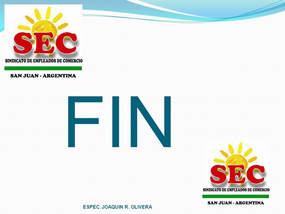 FIN ESPEC. JOAQUIN R. OLIVERA