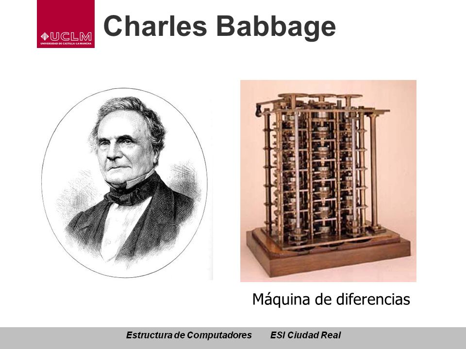 Charles Babbage Máquina de diferencias
