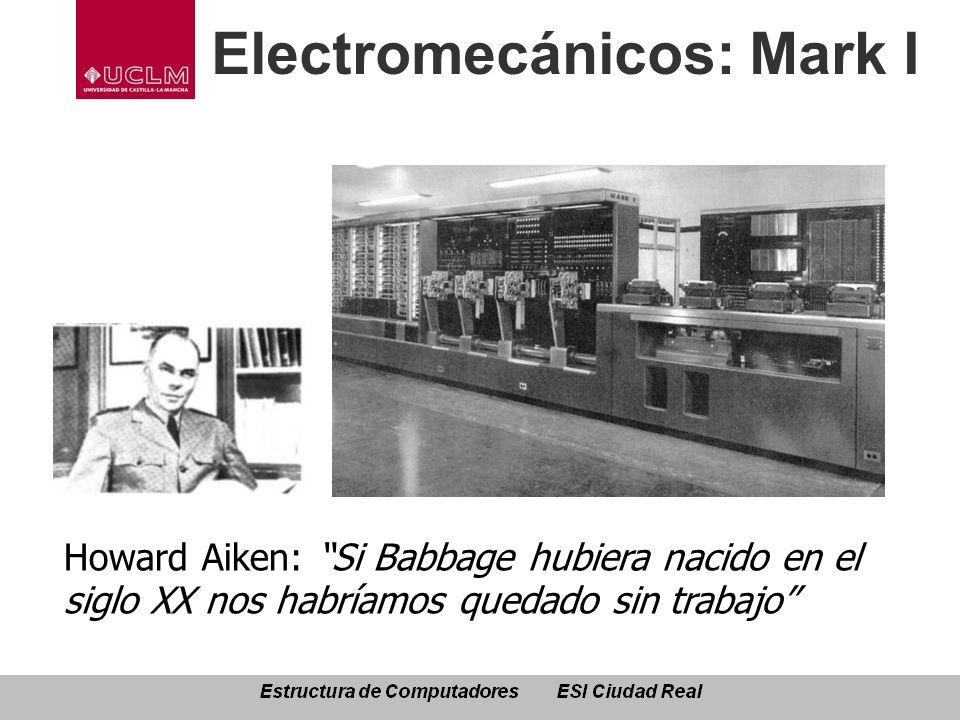 Electromecánicos: Mark I