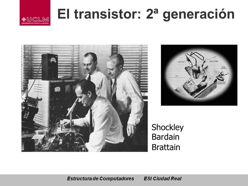 El transistor: 2ª generación