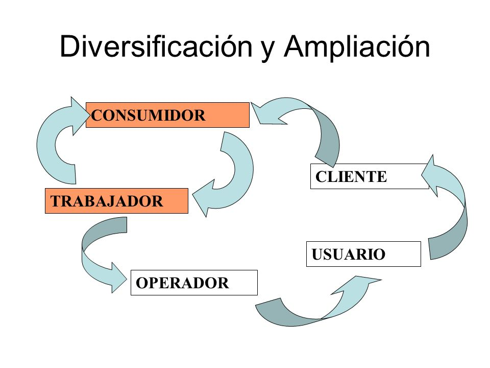 Diversificación y Ampliación