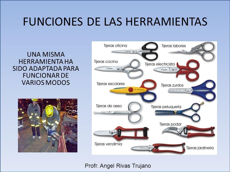 FUNCIONES DE LAS HERRAMIENTAS