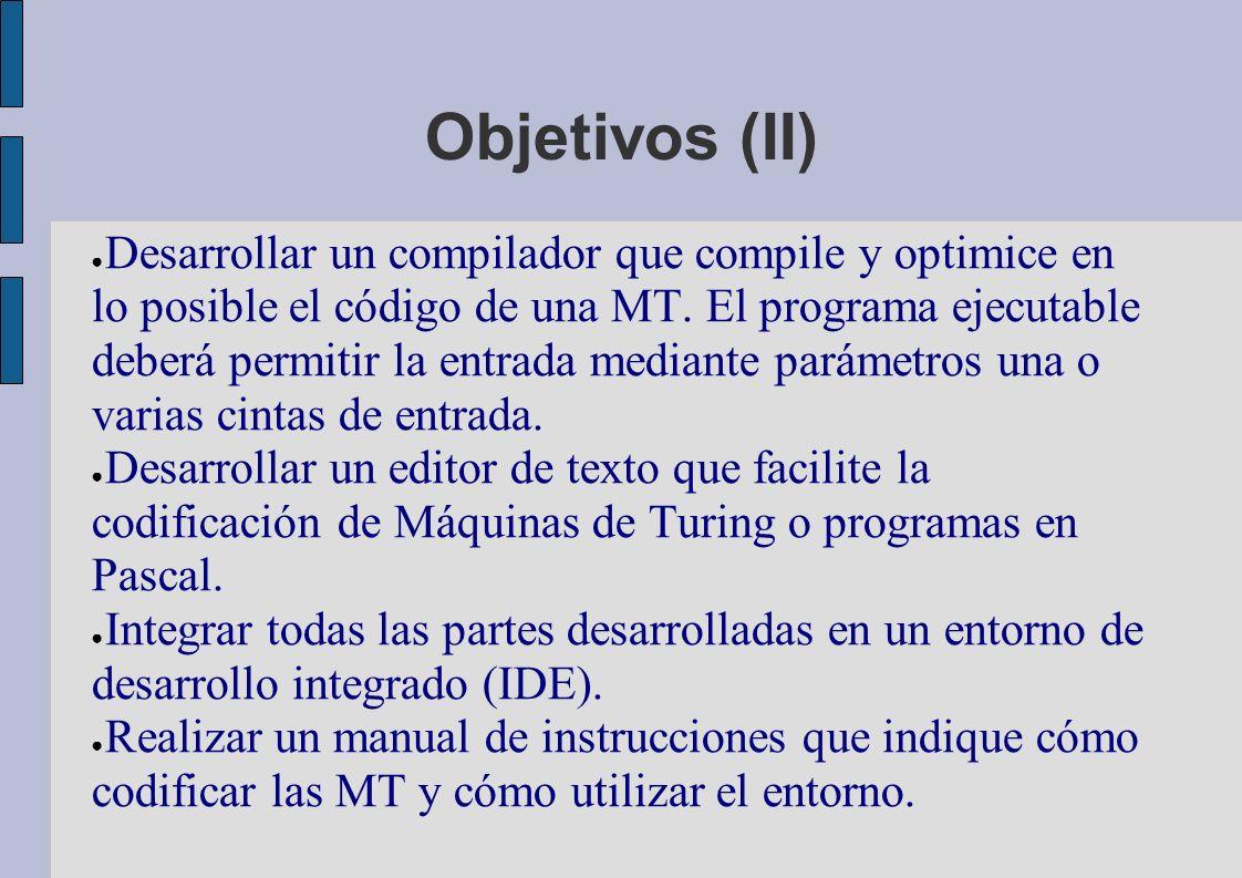 Objetivos (II)