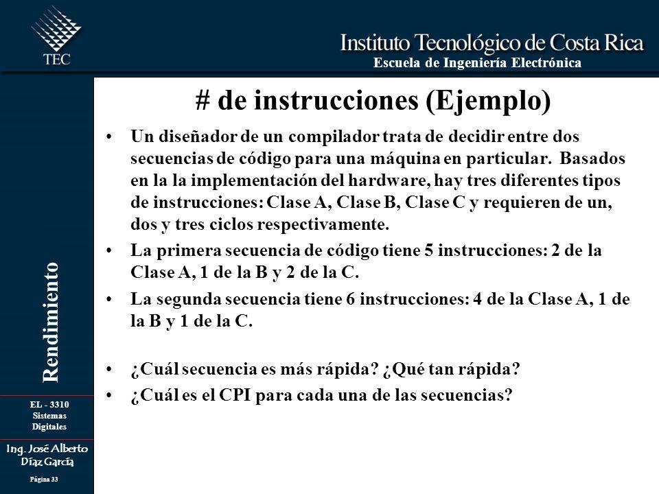 # de instrucciones (Ejemplo)