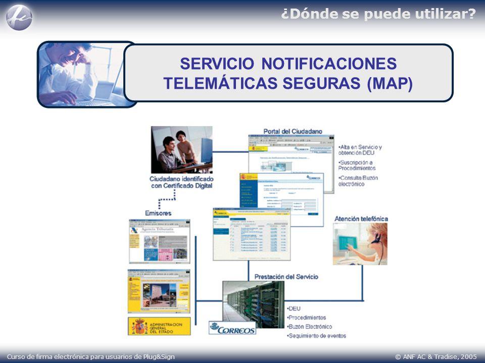 SERVICIO NOTIFICACIONES TELEMÁTICAS SEGURAS (MAP)