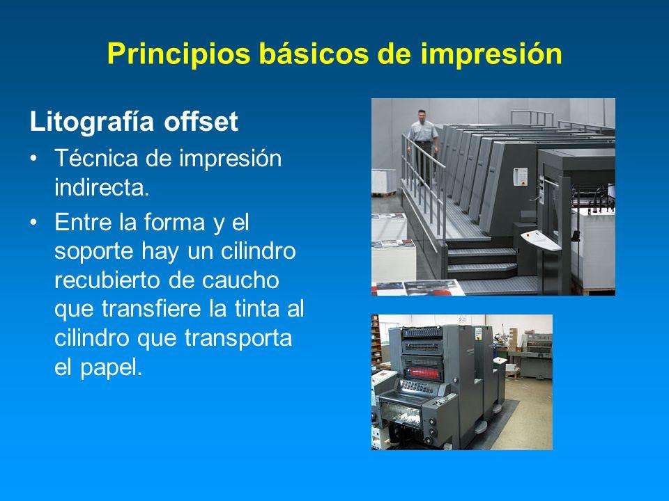 Principios básicos de impresión