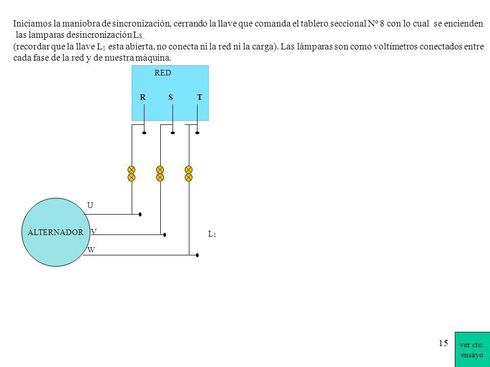 las lamparas desincronización LS.