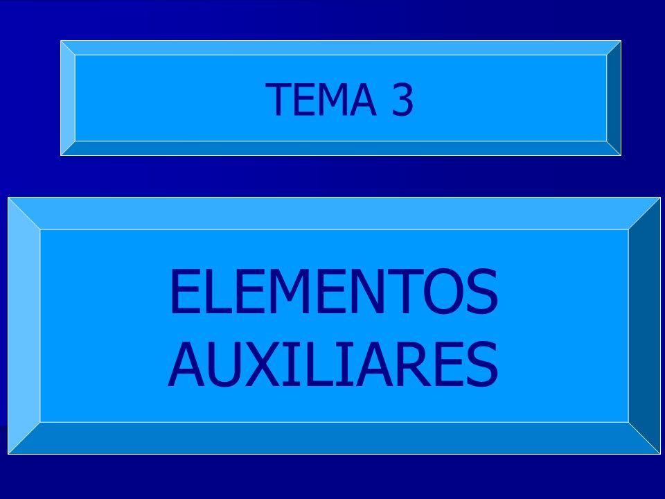 TEMA 3 ELEMENTOS AUXILIARES
