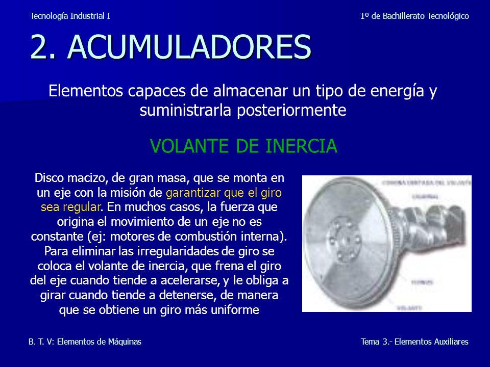 2. ACUMULADORES VOLANTE DE INERCIA