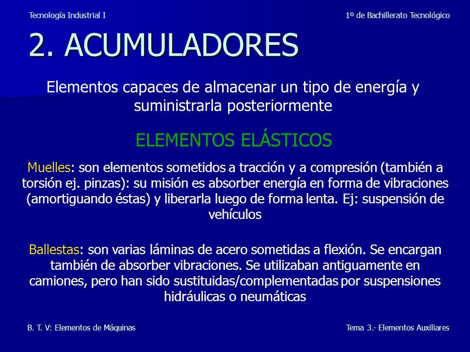 2. ACUMULADORES ELEMENTOS ELÁSTICOS
