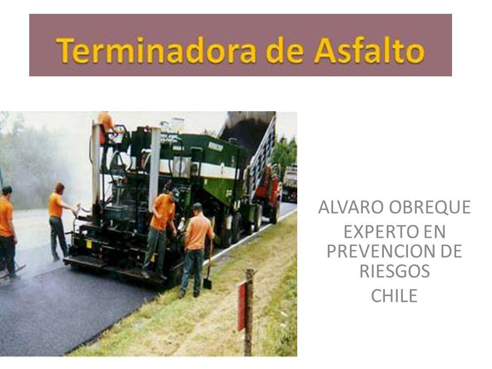 ALVARO OBREQUE EXPERTO EN PREVENCION DE RIESGOS CHILE