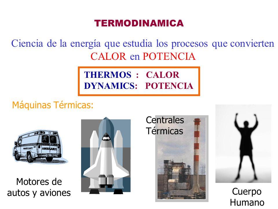 Ciencia de la energía que estudia los procesos que convierten
