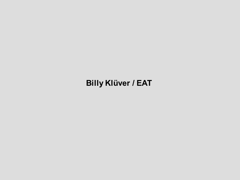 Billy Klüver / EAT