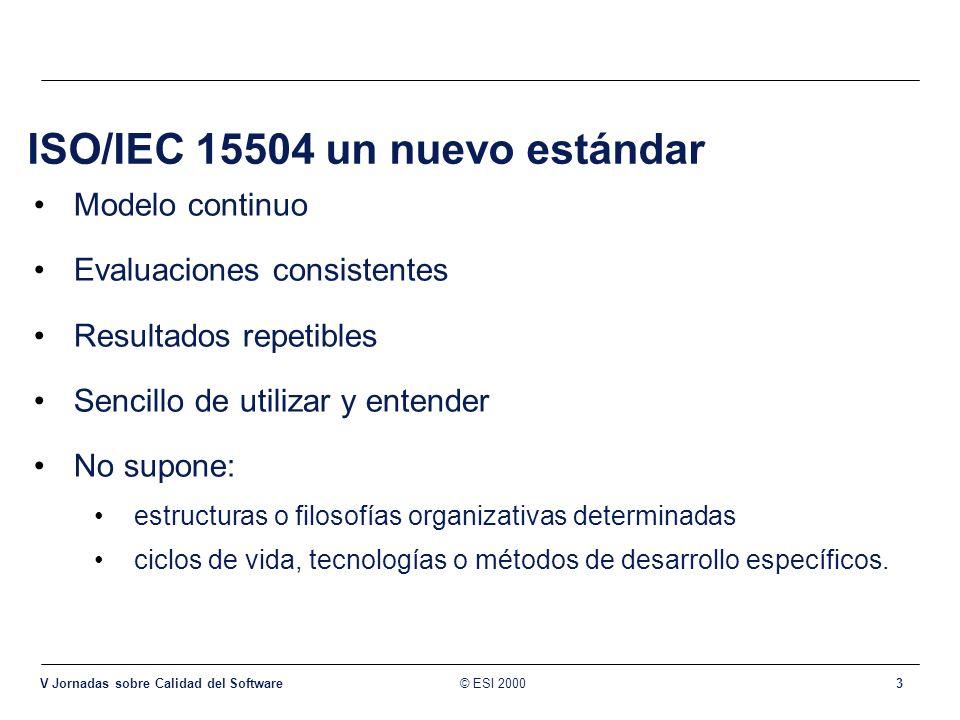 ISO/IEC 15504 un nuevo estándar
