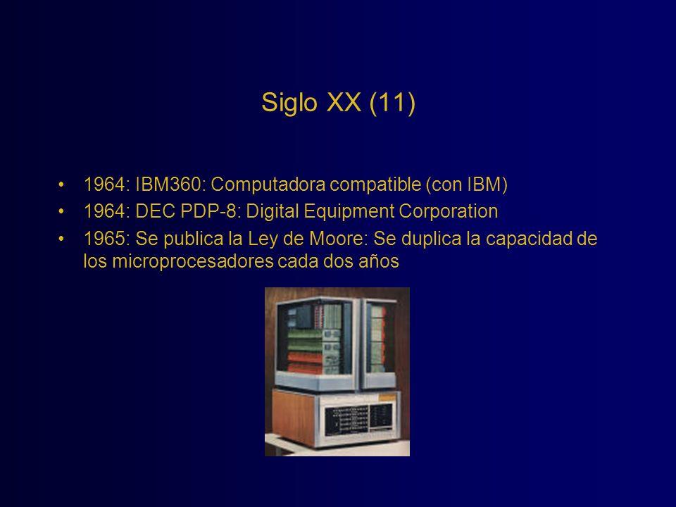 Siglo XX (11) 1964: IBM360: Computadora compatible (con IBM)
