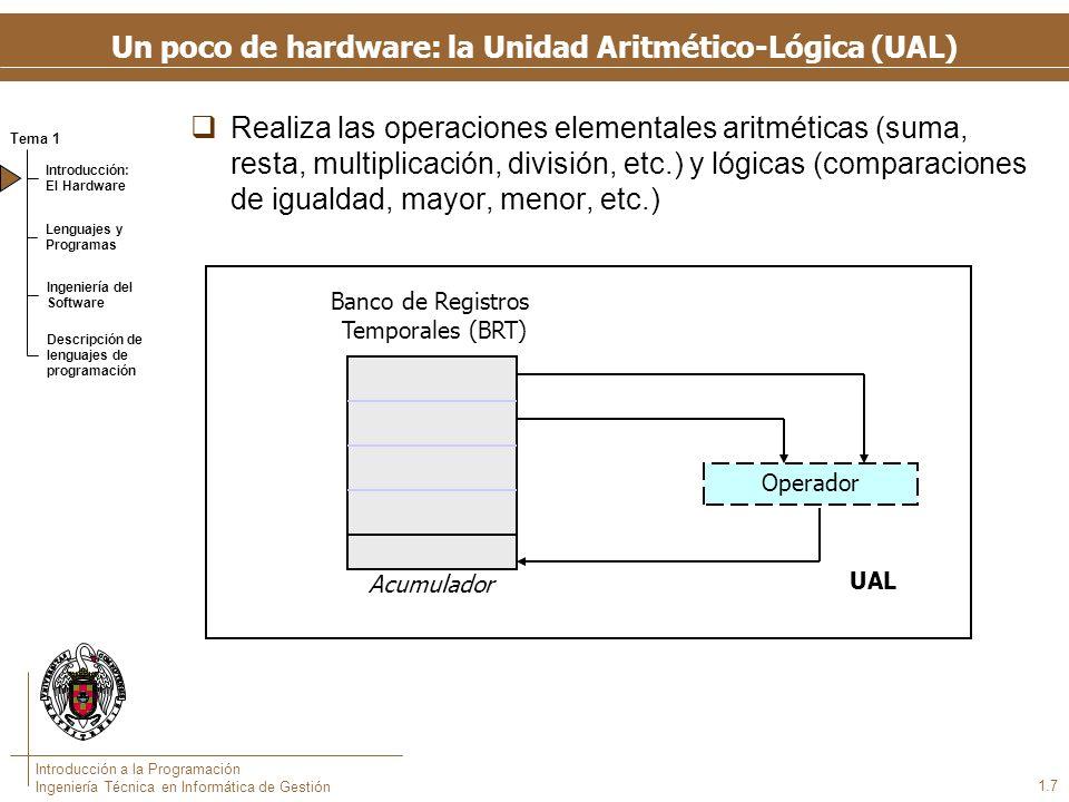 Un poco de hardware: la Unidad de Control (UC)