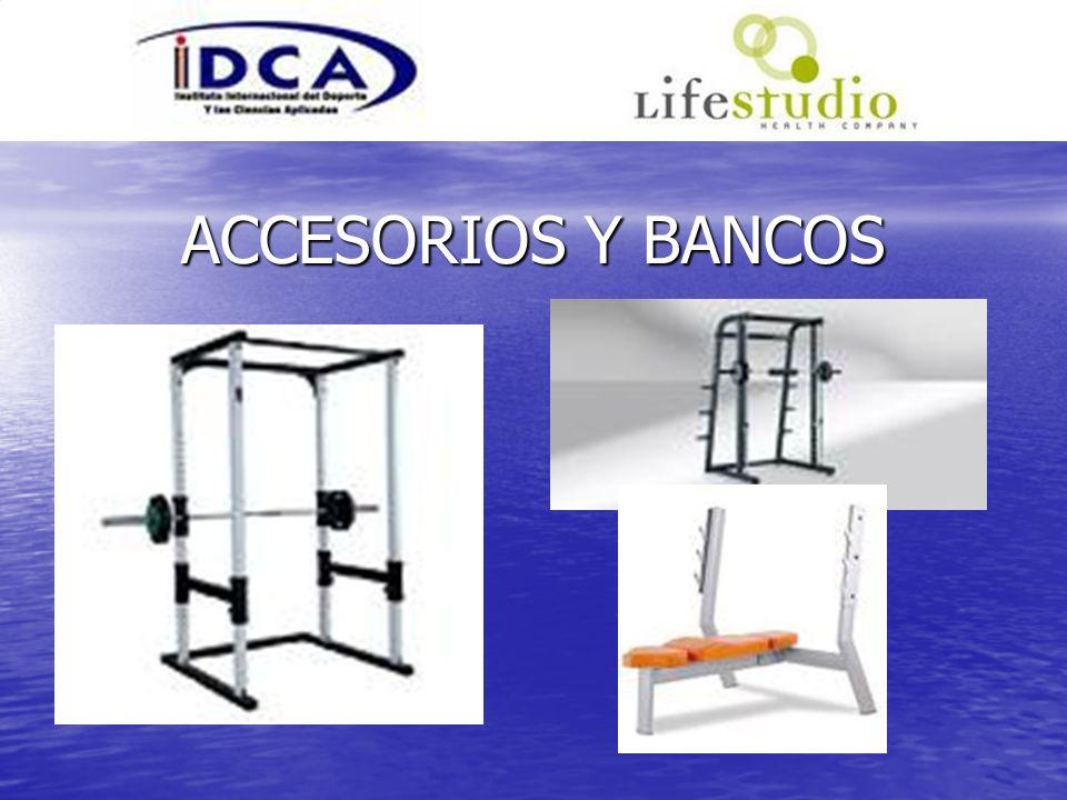 ACCESORIOS Y BANCOS