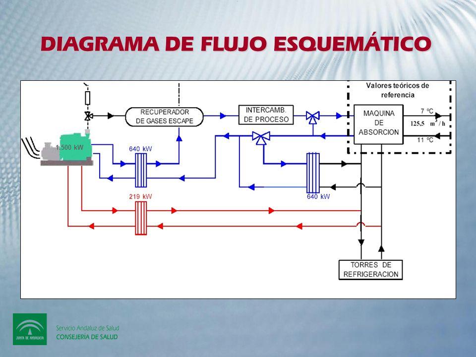 DIAGRAMA DE FLUJO ESQUEMÁTICO