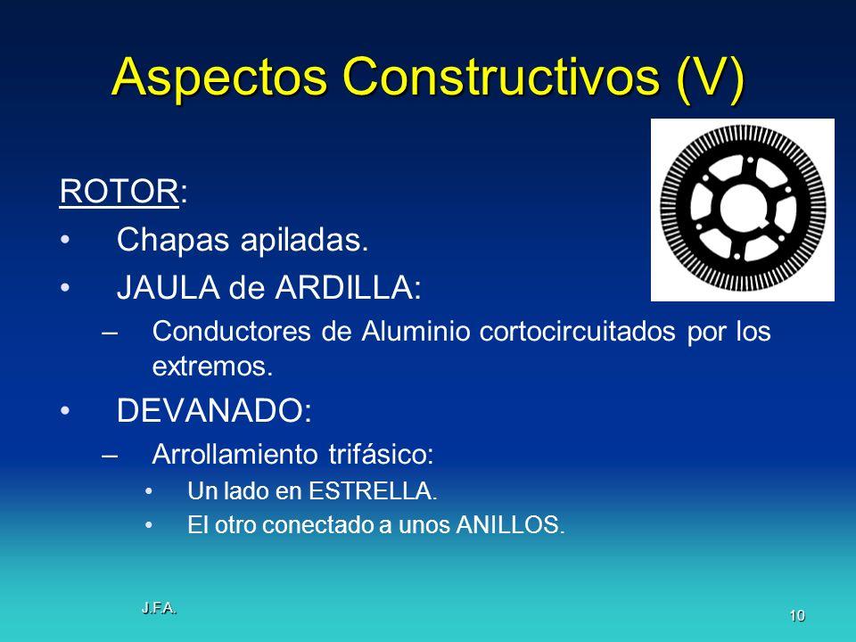 Aspectos Constructivos (V)