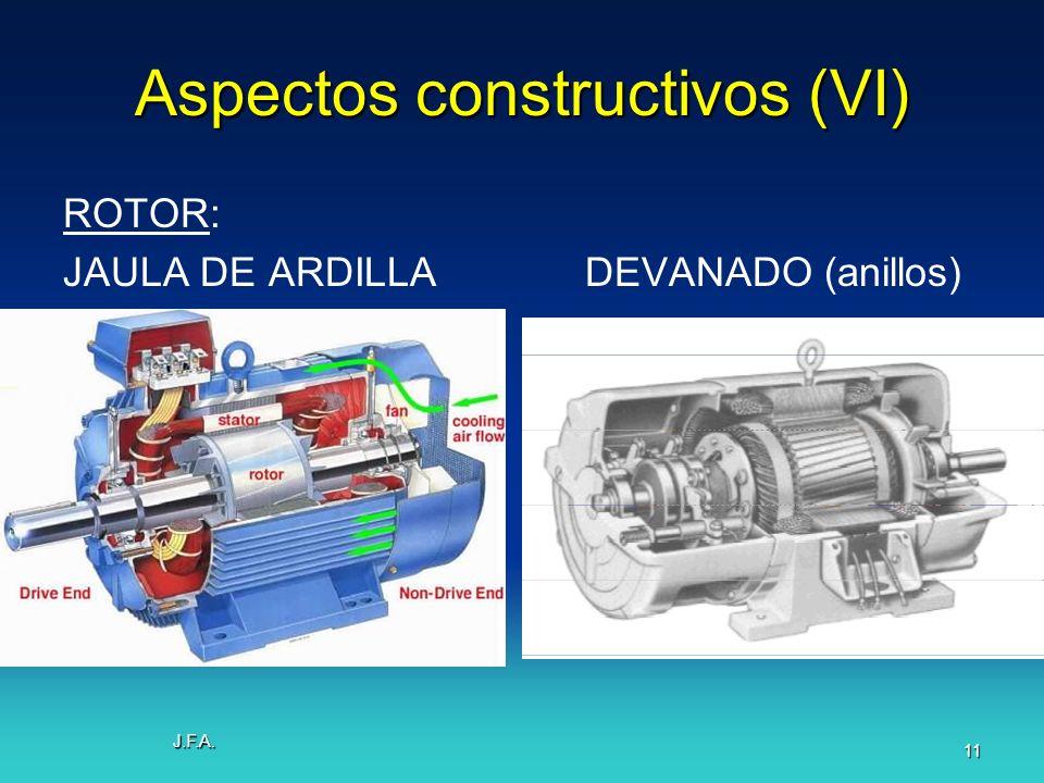 Aspectos constructivos (VI)