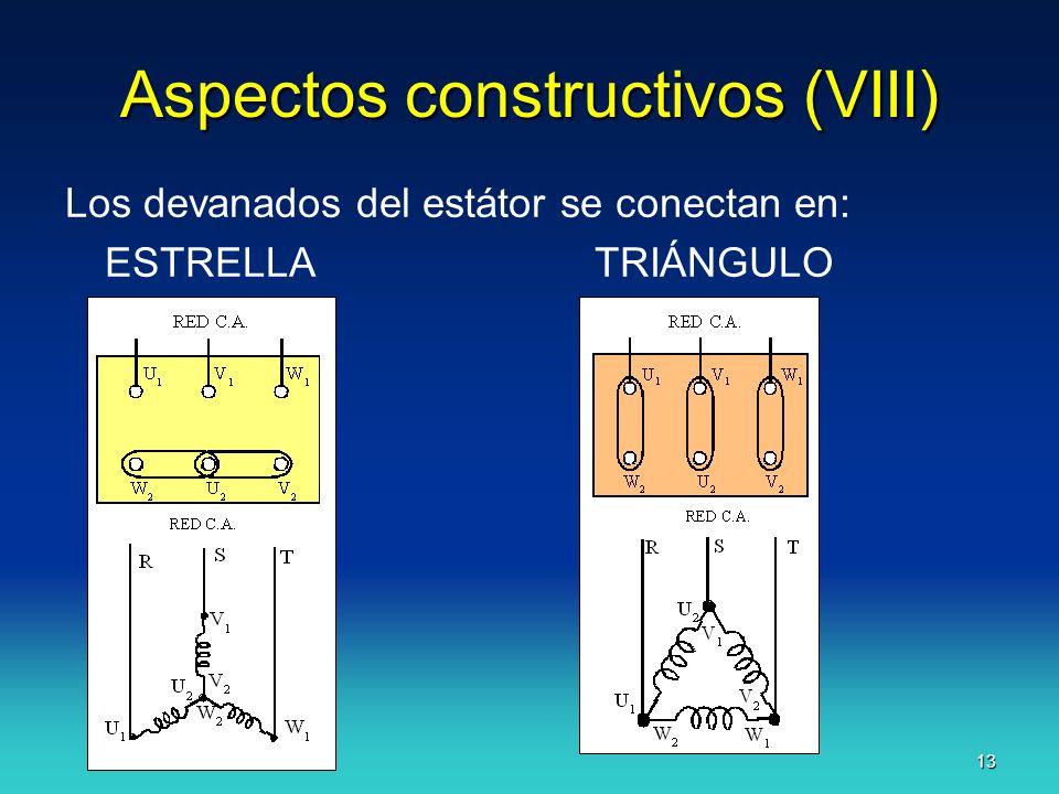 Aspectos constructivos (VIII)