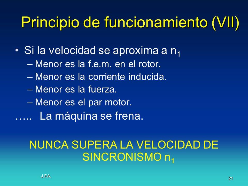 Principio de funcionamiento (VII)