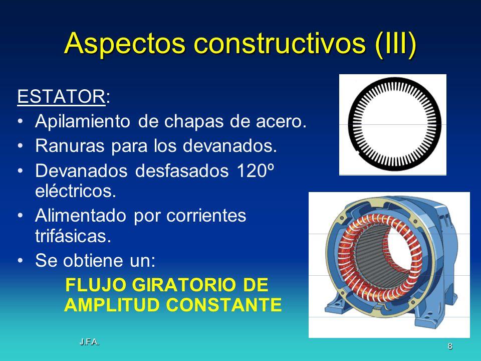 Aspectos constructivos (III)