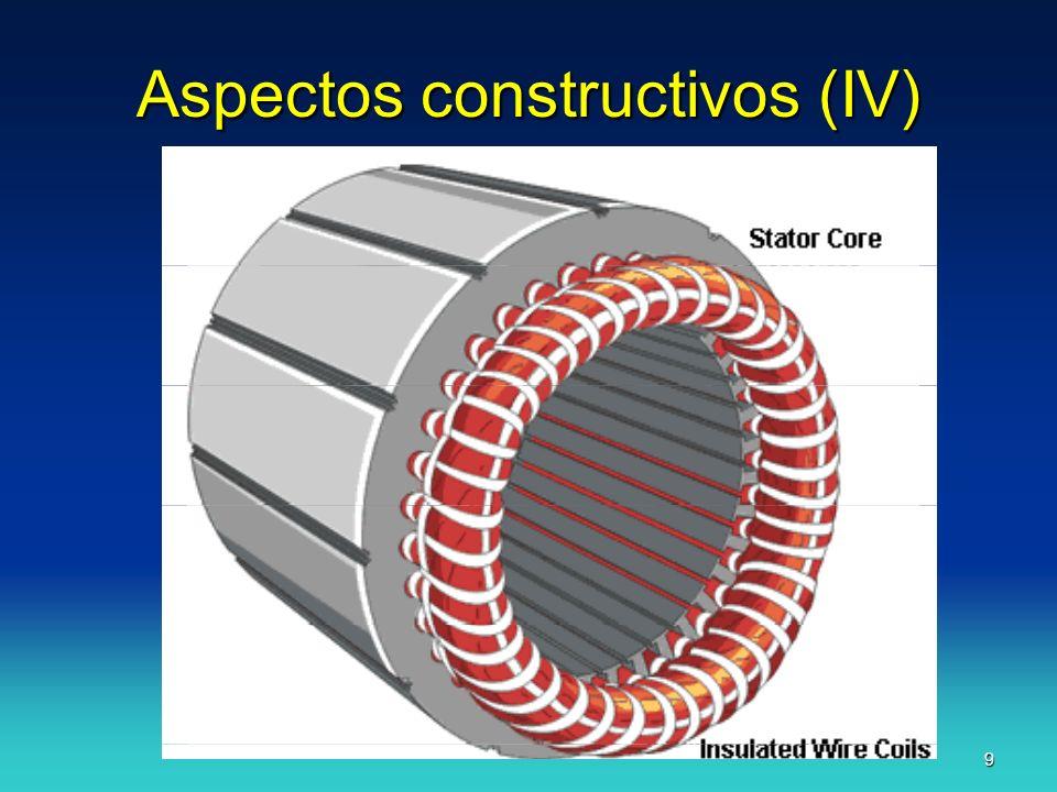Aspectos constructivos (IV)
