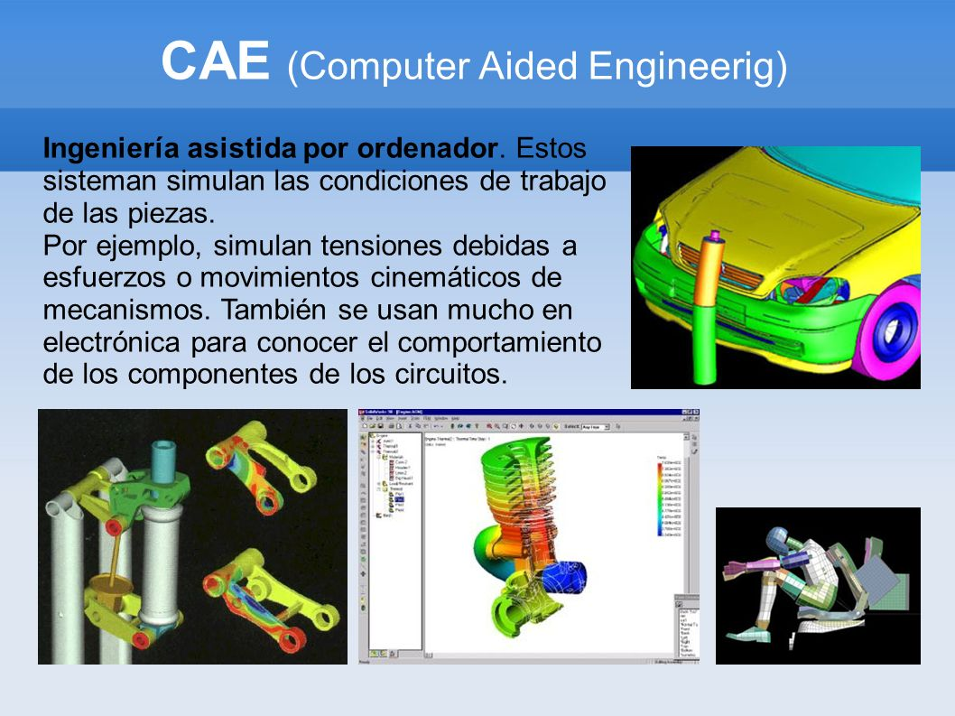 CAE (Computer Aided Engineerig)