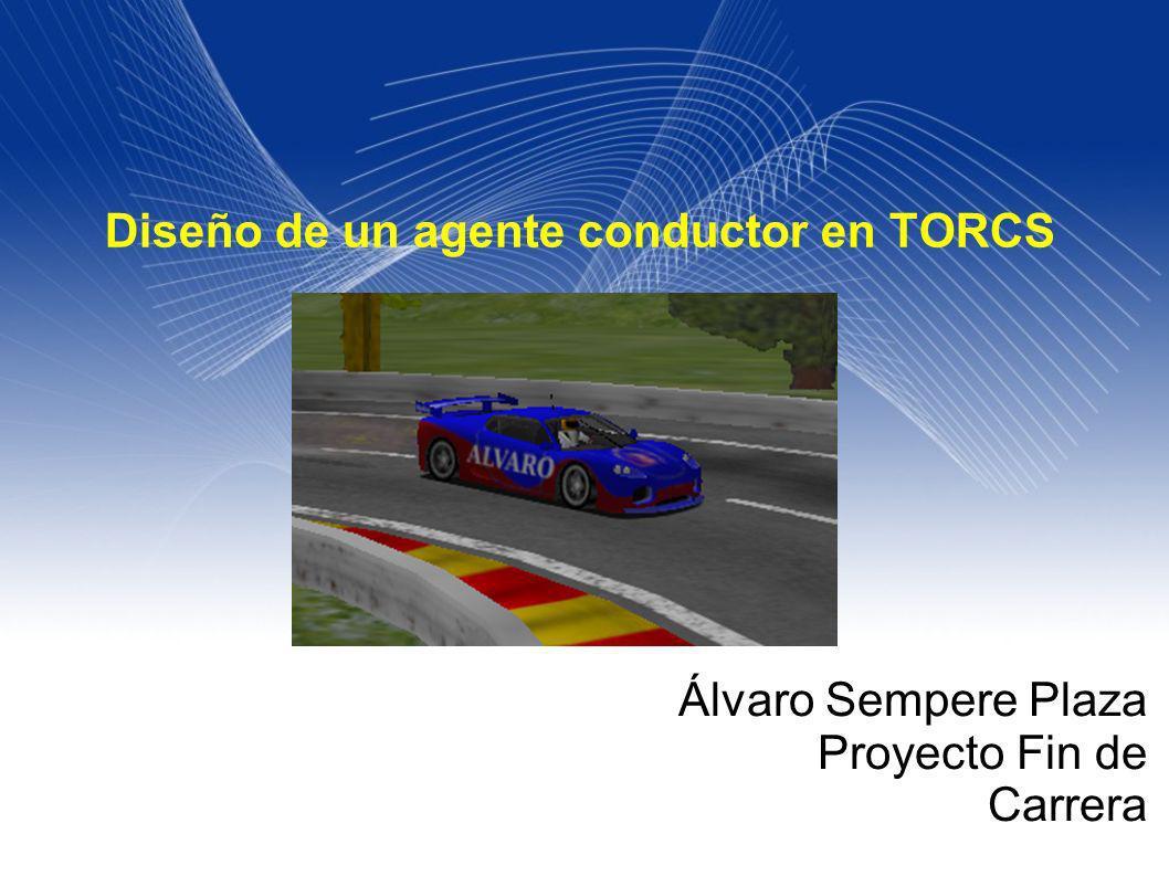 Diseño de un agente conductor en TORCS