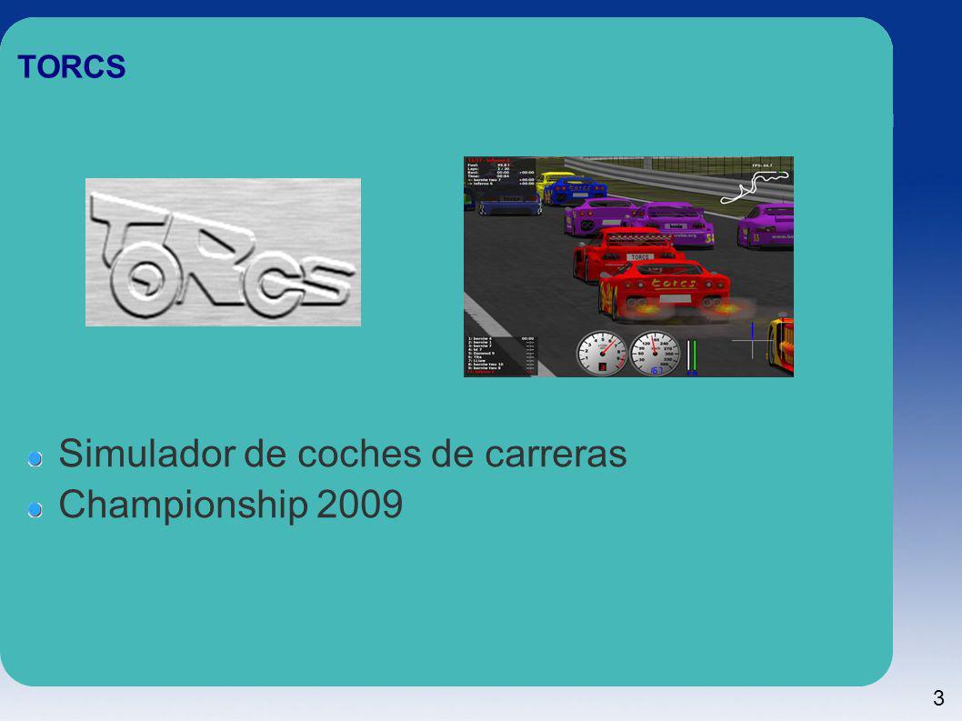 Simulador de coches de carreras Championship 2009